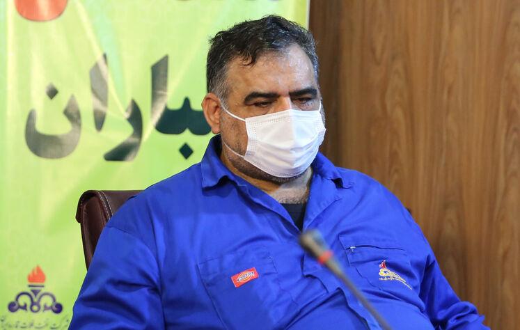 عباس رجبخانی، رییس منطقه عملیاتی خارک شرکت نفت فلات قاره ایران