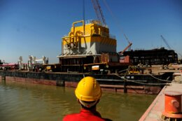 1st SPM Loaded for Jask Oil Terminal