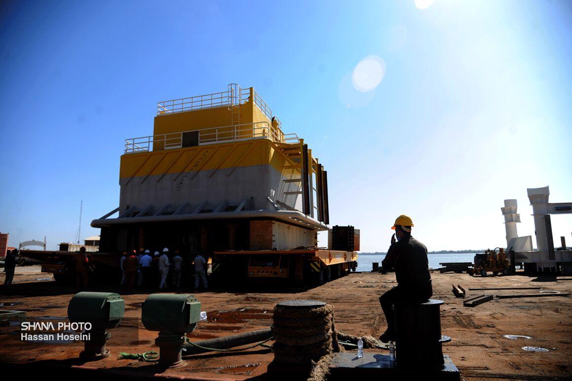 Loading 1st SPM of Jask Oil Terminal