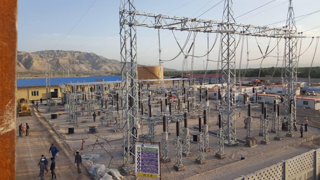 تلمبهخانه شماره ۲ طرح انتقال نفت گوره - جاسک برقدار میشود