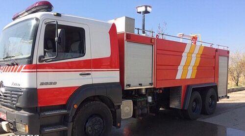 بهبود ناوگان آتشنشانی در زاگرس جنوبی