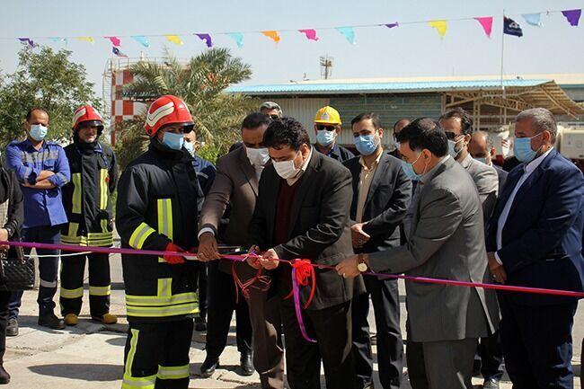 بهرهبرداری از تأسیسات ایمنی مرکز سوختگیری هواپیمایی اهواز