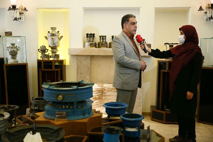 آیین گشایش موزه نفت سوزهای کرمان