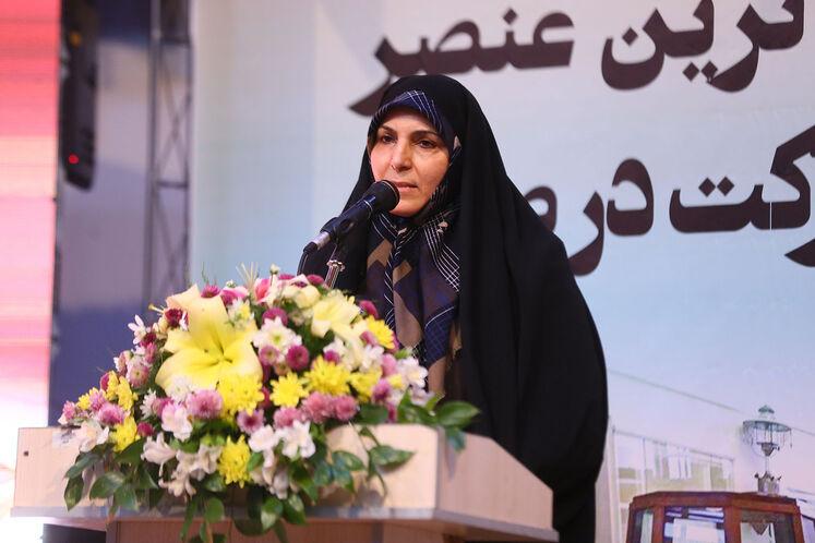 حمیده واعظی، معاون استاندار کرمان در توسعه مدیریت و منابع انسانی