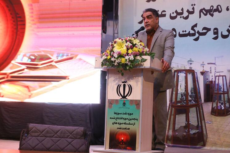 اکبر نعمت اللهی، مدیر موزهها و مرکز اسناد صنعت نفت