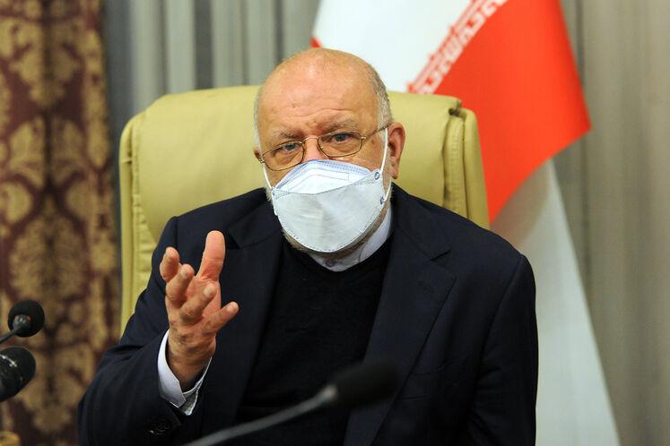 بیژن زنگنه، وزیر نفت در چهاردهمین نشست وزیران نفت و انرژی ائتلاف اوپک پلاس