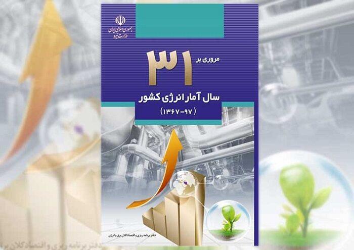 کتاب «مروری بر ۳۱ سال آمار انرژی کشور» در دسترس قرار گرفت