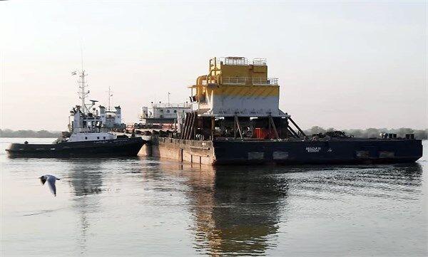 Installation of 1st SPM of Jask Oil Terminal Begins