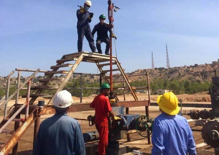 خروج موفق مسدودکننده از چاه نفتی در خارک