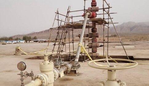 چاه شماره ۹ میدان نفتی سعادتآباد تولیدی شد