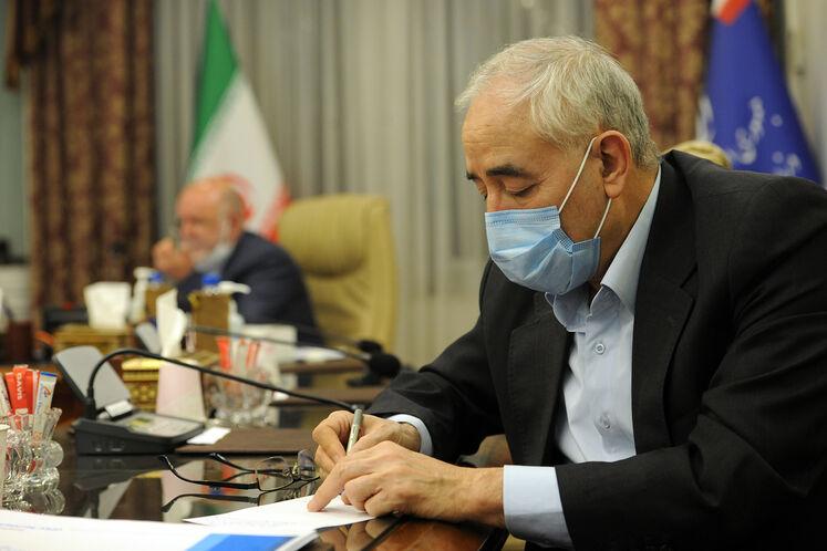 امیرحسین زمانینیا، نماینده ایران در هیئت عامل اوپک در پانزدهمین نشست وزیران نفت و انرژی ائتلاف اوپک پلاس