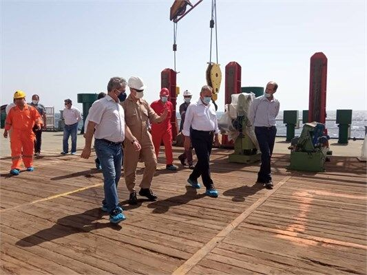 استقرار مرکز پشتیبانی سکوهای ناحیه ۲ پارس جنوبی در خلیج فارس