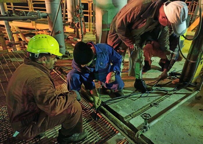 سامانه حفاظت کاتدی خطوط لوله هندیجان و بهرگانسر بازسازی شد