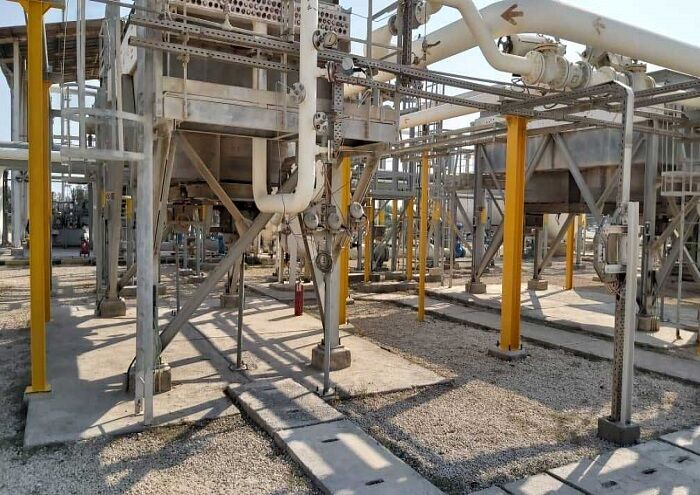 پایان تعمیرات سالانه ایستگاه تقویت فشار گاز کیش