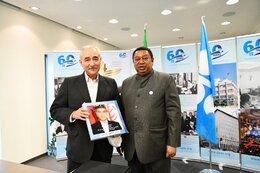 Iran OPEC Boss Meets Sec. Gen. Barkindo