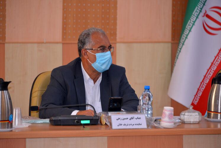 اسماعیل حسین زهی، مردم خاش در مجلس