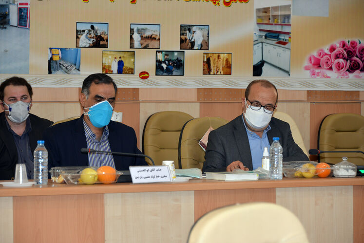 نشست پیگیری طرحهای گازرسانی در استان سیستان و بلوچستان- شهرستان زابل