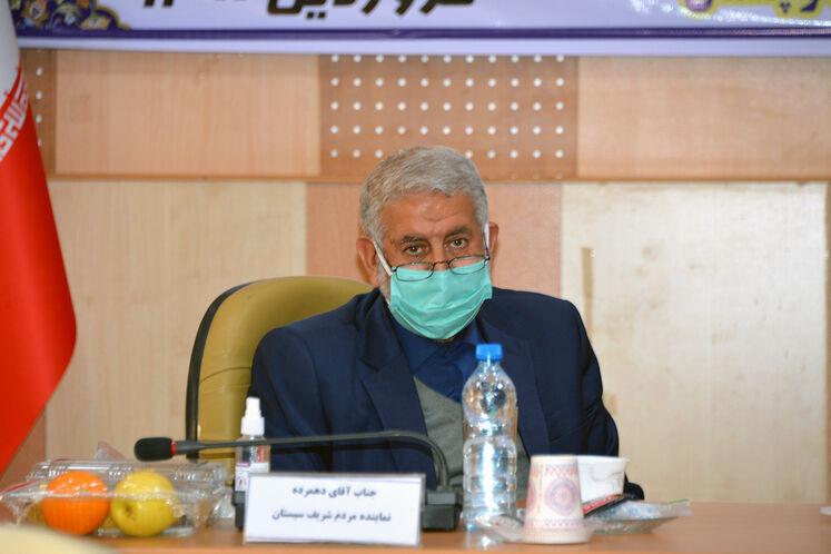 حبیبالله دهمرده، نماینده سیستان در مجلس شورای اسلامی
