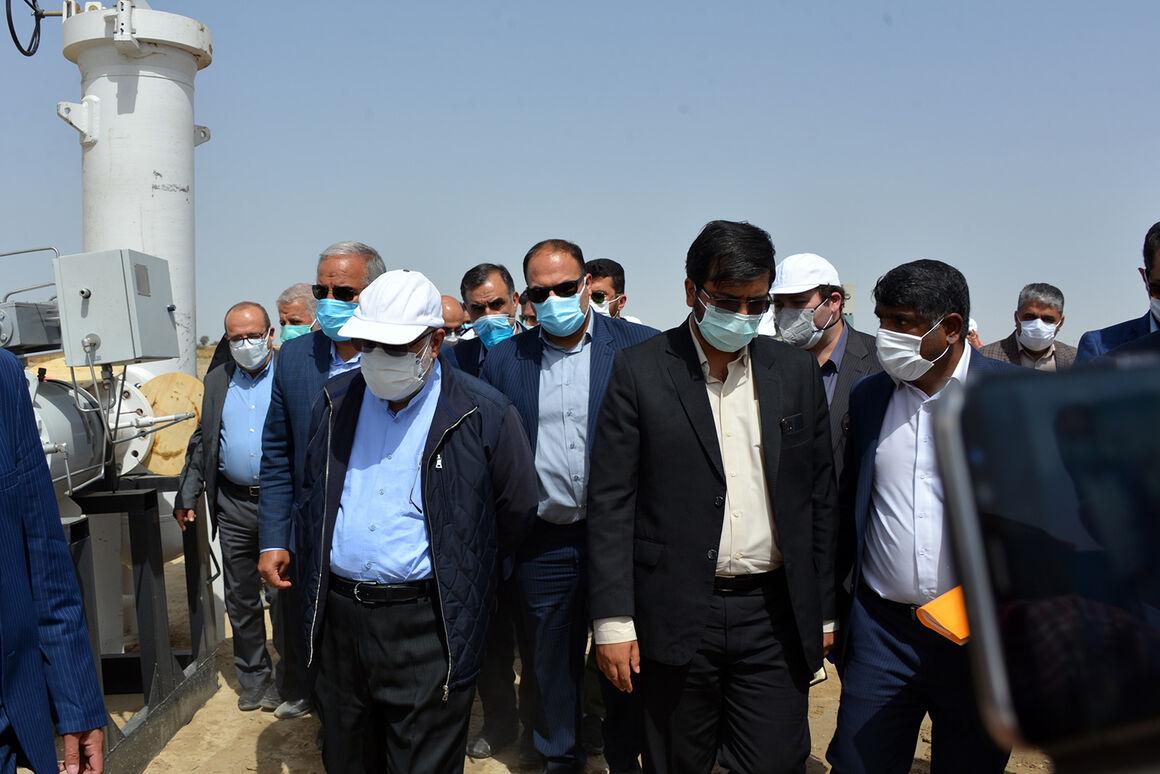 بازدید وزیر نفت از طرحهای گازرسانی منطقه سیستان