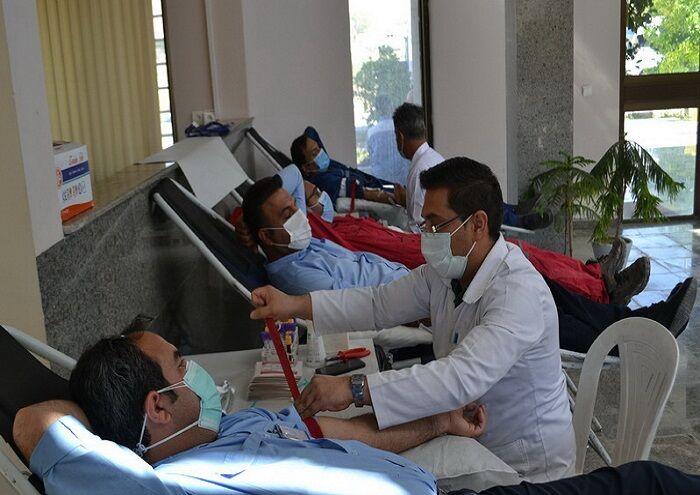 کارکنان آغار و دالان خون اهدا کردند