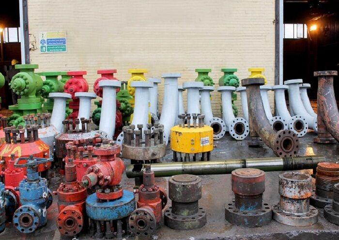 بازسازی بیش از ۱۰۰۰ تجهیز سرچاهی در مناطق نفتخیز جنوب