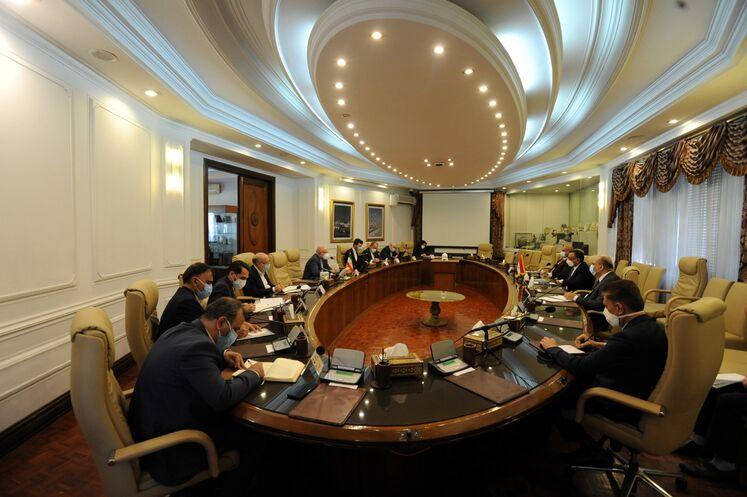 دیدار وزیر نفت با وزیر برق عراق