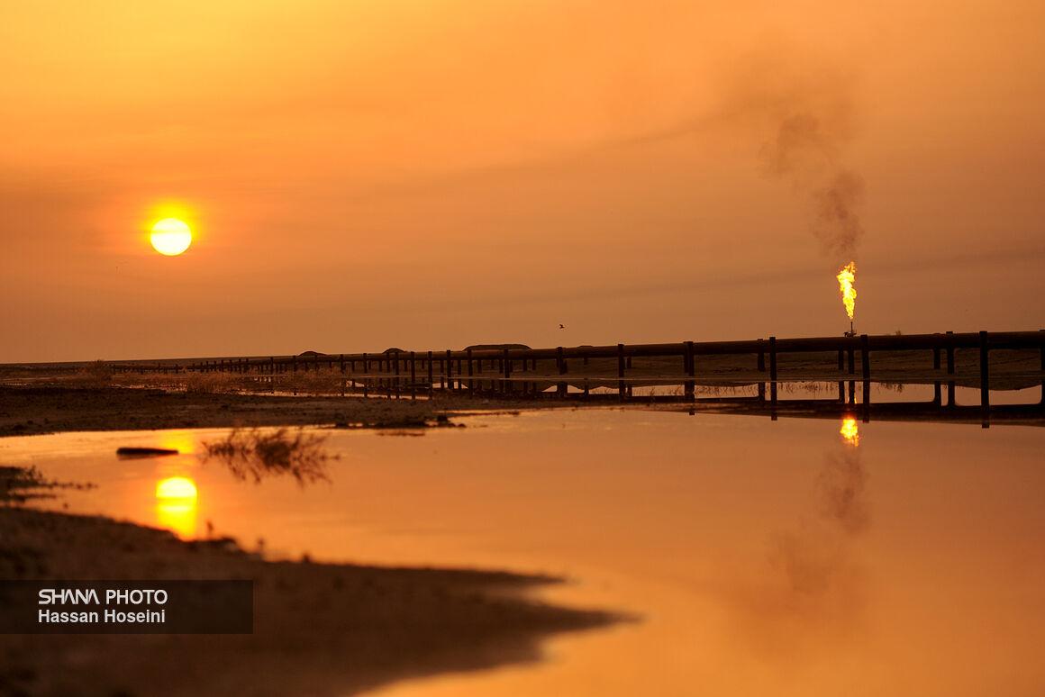 میدان نفتی آزادگان در دل هورالعظیم