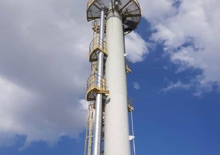 برج هیدروژن سولفورهزدای هفت شهیدان بازسازی شد