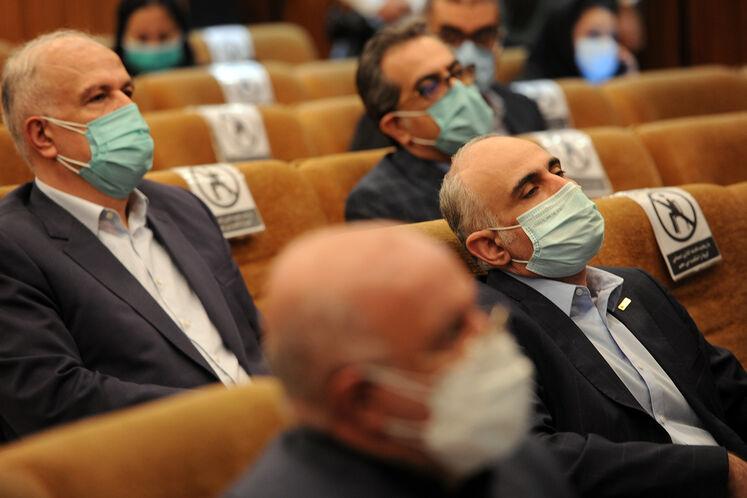 حمیدرضا مسعودی، مدیرعامل گروه پتروپارس در آیین امضای قرارداد توسعه میدان گازی فرزاد «ب»