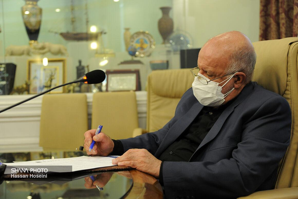 پیام تبریک زنگنه به وزیر نفت دولت سیزدهم
