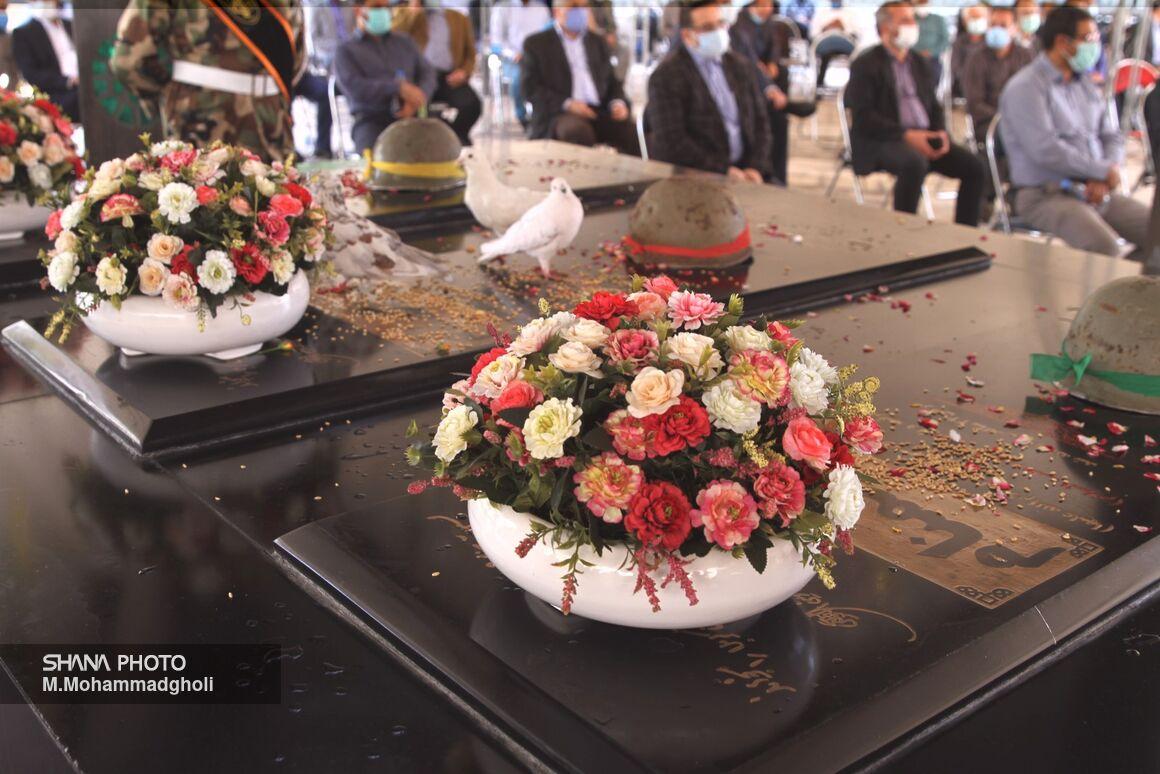 یازدهمین سالگرد خاکسپاری  شهدای گمنام وزارت نفت