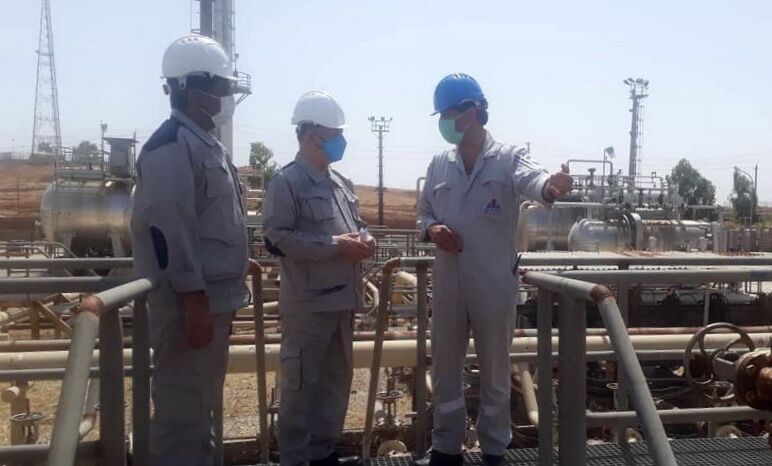 توسعه همکاریهای نفت مرکزی و بهداشت و درمان غرب