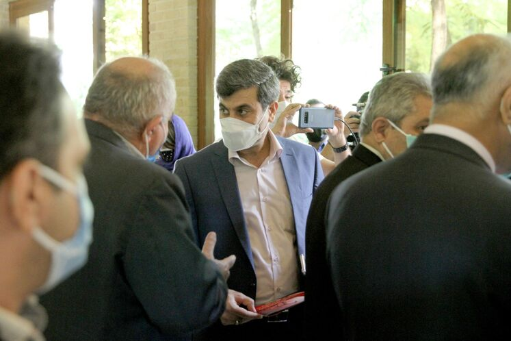 احمد محمدی، مدیرعامل شرکت ملی مناطق نفتخیز جنوب