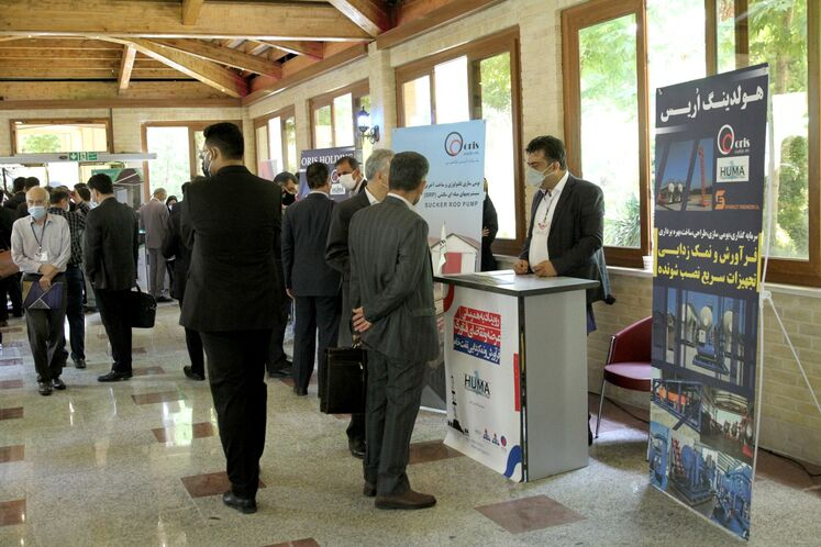نمایشگاه جانبی رویداد بههمرسانی عرضه و تقاضای فناوری فرآورش و نمکزدایی نفت خام
