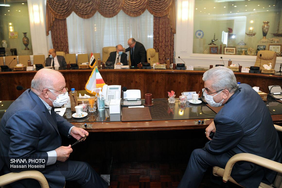 دیدار زنگنه وزیر نفت با وزیران دارایی و برق عراق