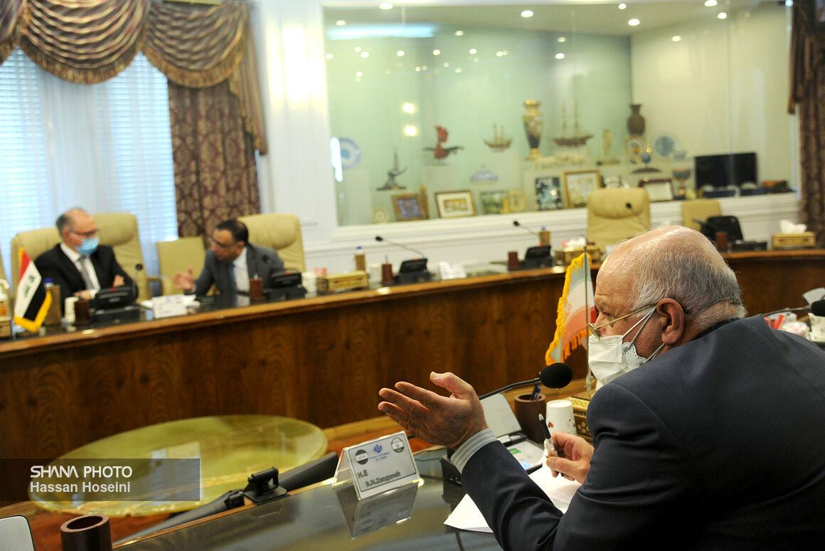 Zangeneh Meets Iraqi Officials to Discuss Settling Baghdad Gas Debts to Tehran