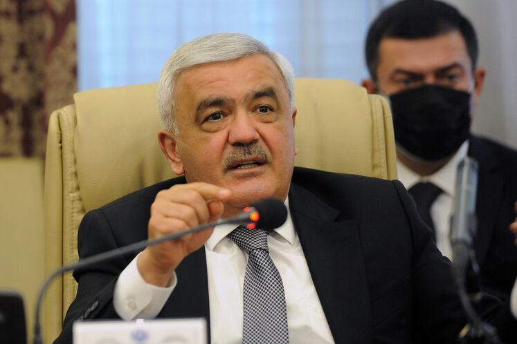 رونق عبداللهیف، رئیس شرکت ملی نفت آذربایجان (سوکار)