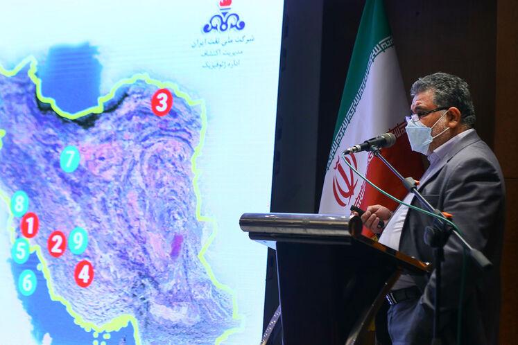 حسین غفاری، مدیر عملیات ژئوفیزیک مدیریت اکتشاف شرکت ملی نفت ایران