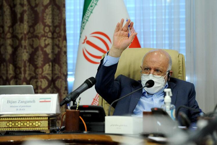 بیژن زنگنه ،وزیر نفت درهفدهمین نشست وزارتی اوپک پلاس