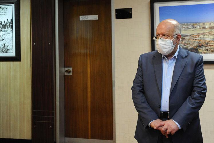 بیژن زنگنه، وزیر نفت در هفدهمین نشست وزارتی اوپک پلاس