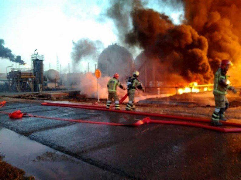 آتشسوزی پالایشگاه تهران به مخازن دیگر سرایت نکرده است