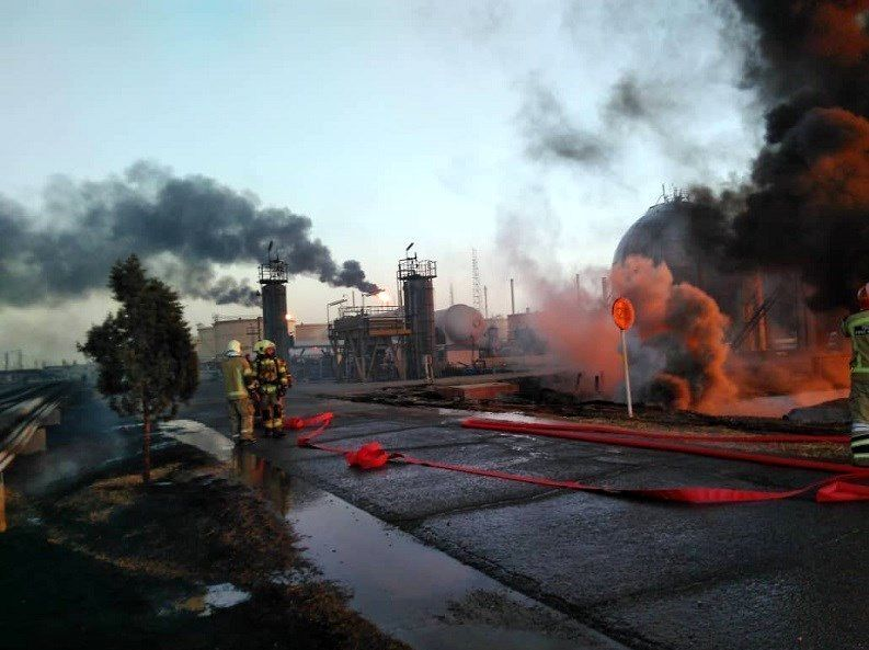 Cause of Fire at Tehran Refinery under Investigation
