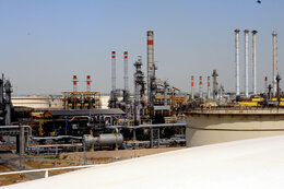 Production Resumed at Tehran Oil Refinery