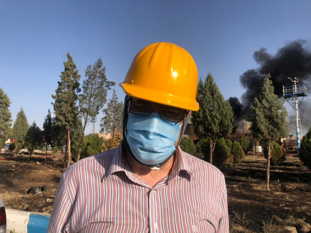 عملیات خاموش کردن آتش پالایشگاه تهران رو به پایان است