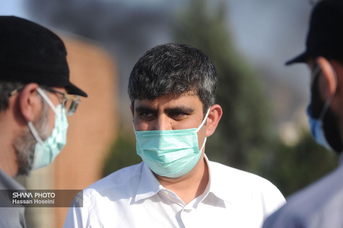 قدردانی معاون وزیر نفت از تلاشگران اطفای حریق پالایشگاه تهران