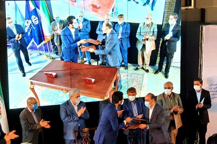 پارک نوآوری و فناوری صنعت نفت ۵ موافقتنامه همکاری امضا کرد
