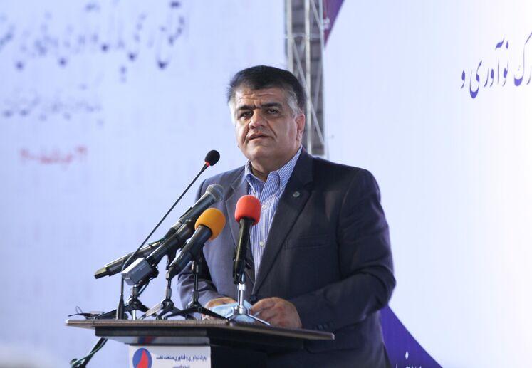 جعفر قیصری، رئیس شهرک علمی و تحقیقاتی اصفهان