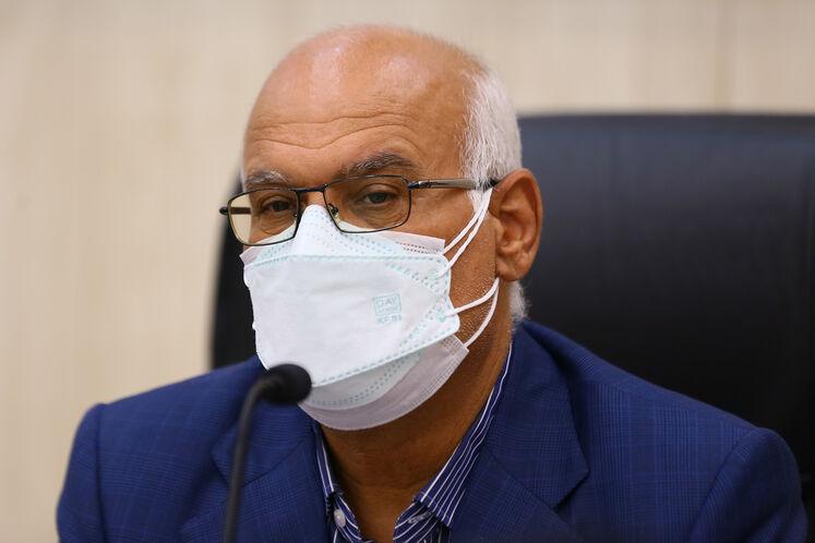 محمدرضا امین، مدیرعامل پالایشگاه آبادان