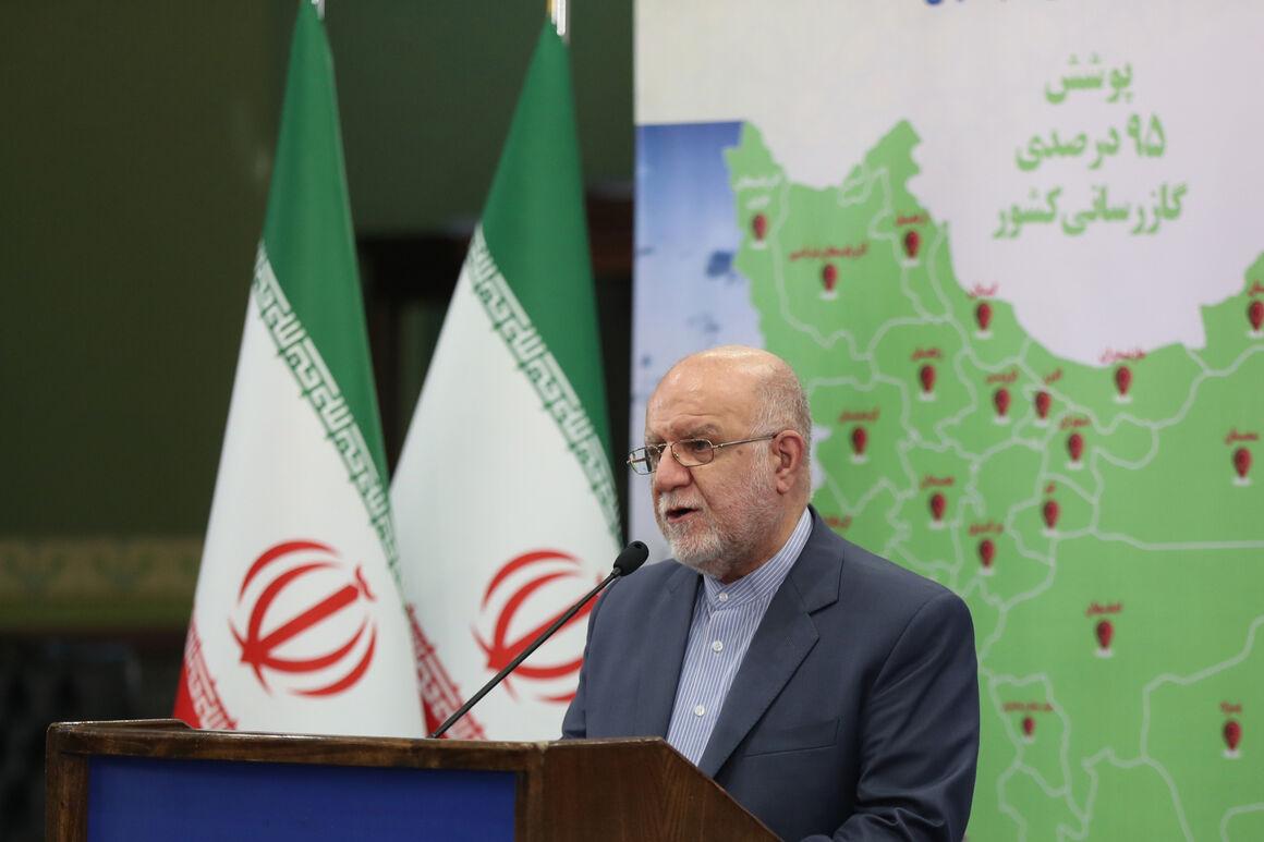 جمعیت زیر پوشش شبکه گاز رسانی در ایران به ۹۵.۱ درصد رسید
