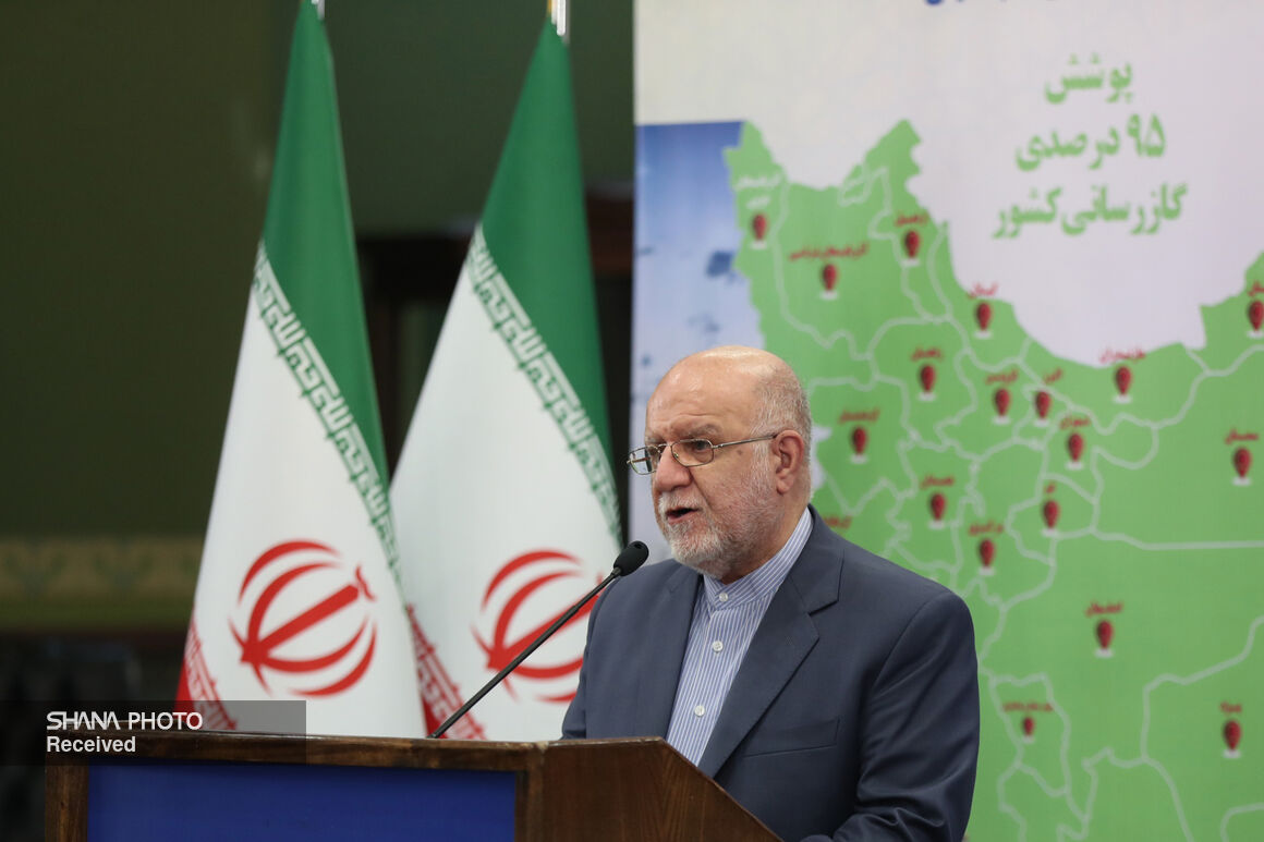 Iran Gas Supply Network Covering 95.1% Population